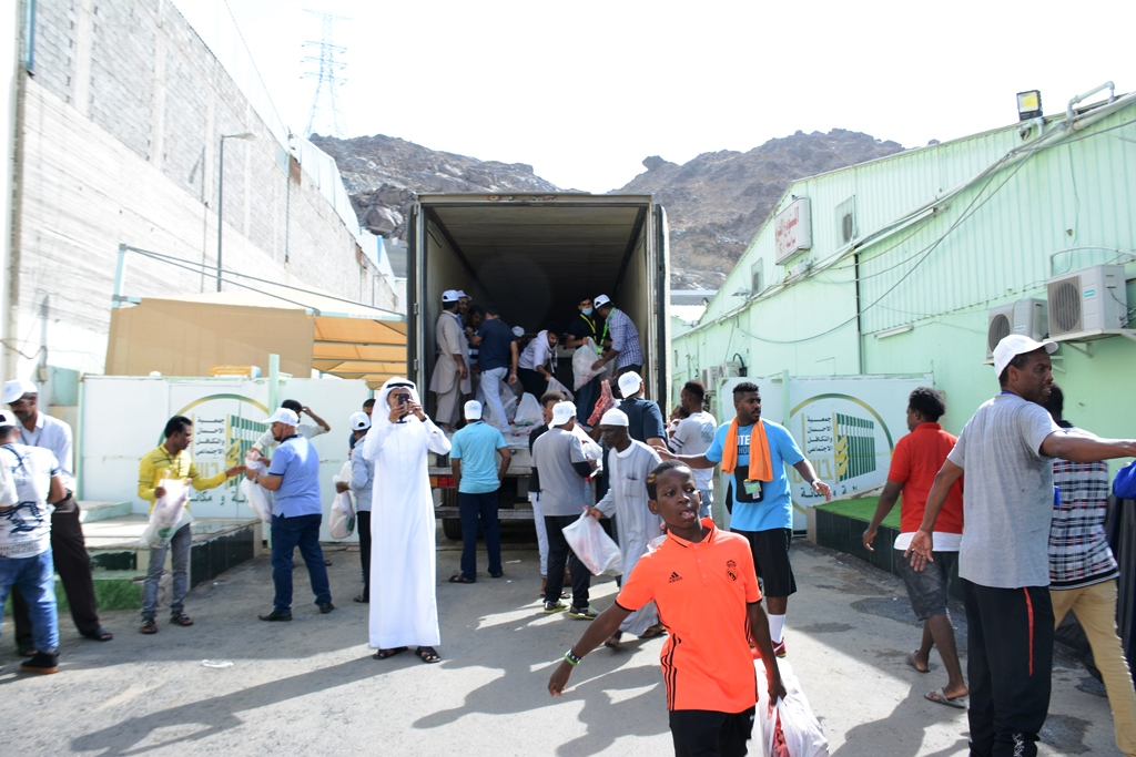 جمعية (إحسان) توزع 2500 ذبيحة هدي