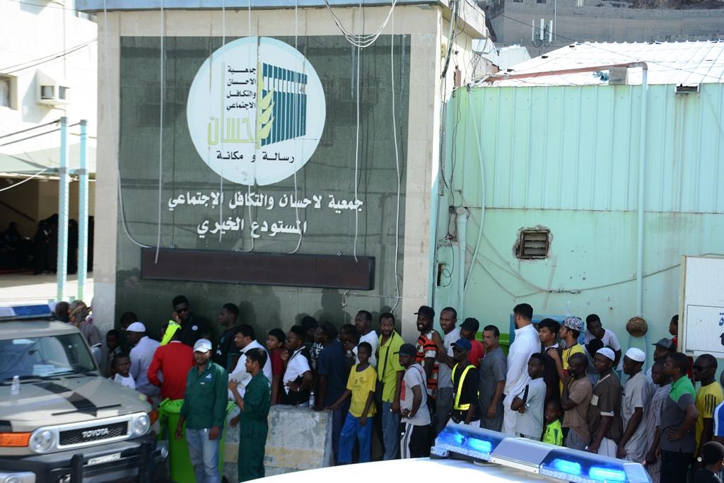 جمعية إحسان توزع 2500 ذبيحة هدي على فقراء الحرم في أول أيام التشريق