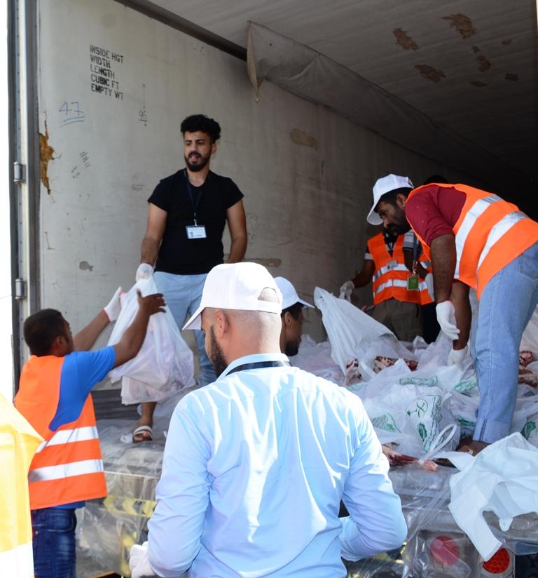 جمعية إحسان توزع (2500) ذبيحة هدي على فقراء الحرم في أول أيام التشريق